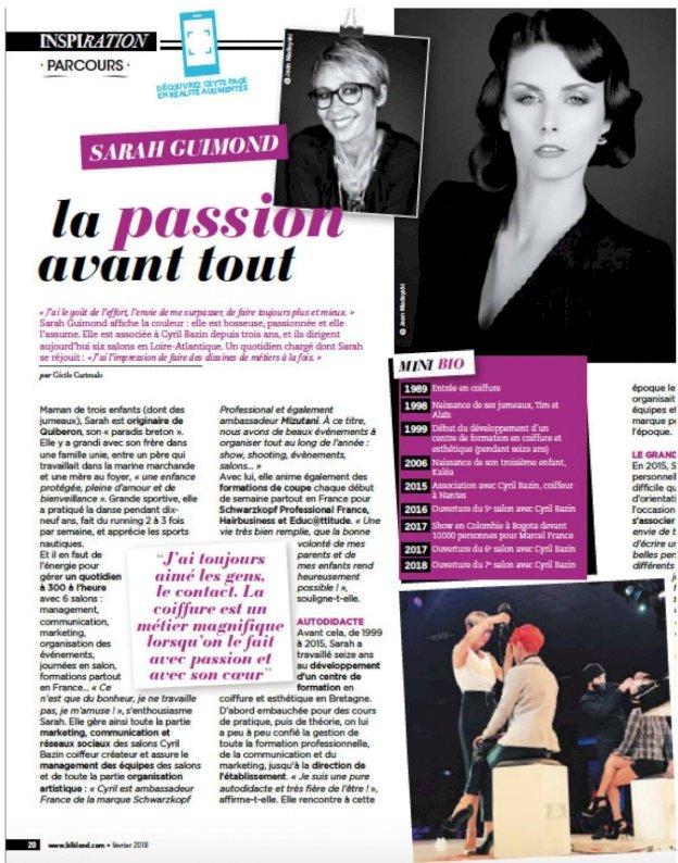 Sarah GUIMOND coiffeuse Nantes