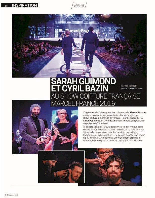 Cyril Bazin et Sarah GUIMOND  coiffeurs Nantes